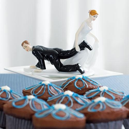 Figura de pastel La fuerza del Amor.