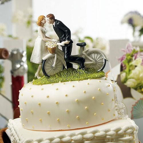 Figura para pastel Paseo Romántico.