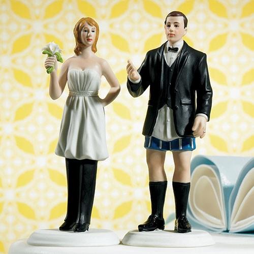 Muñeco para pastel de boda ¿Quién está a cargo?