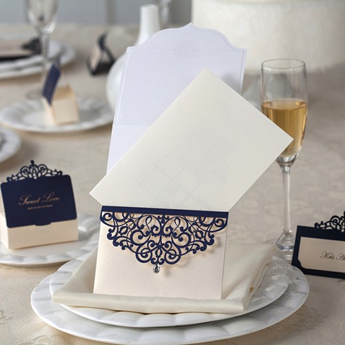 "Invitación para Boda ""Royal Blue"""