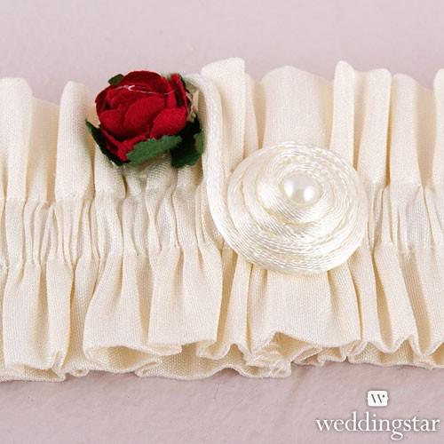 """Liga para novia """"Romantic Rose"""""""