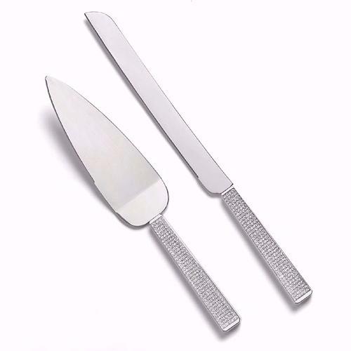 """Set de pala y cuchillo """" Sparkling Crystals"""""""