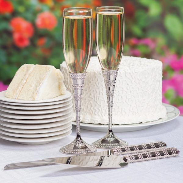 """Copas y set para pastel """"Echanting Cristal"""""""