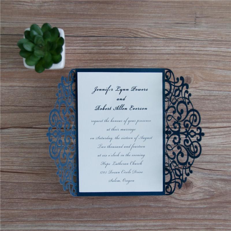Invitación para Boda o 15 años Blue door