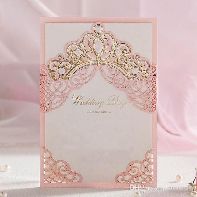 Invitacion de XV años o Boda Princess