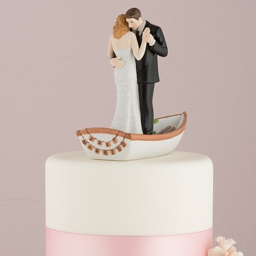 Figura de pastel Bote del amor