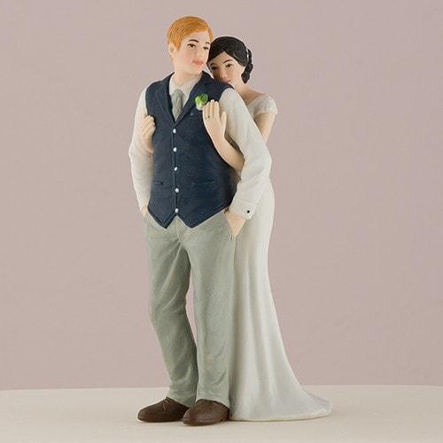 Figura para pastel Dulce abrazo.