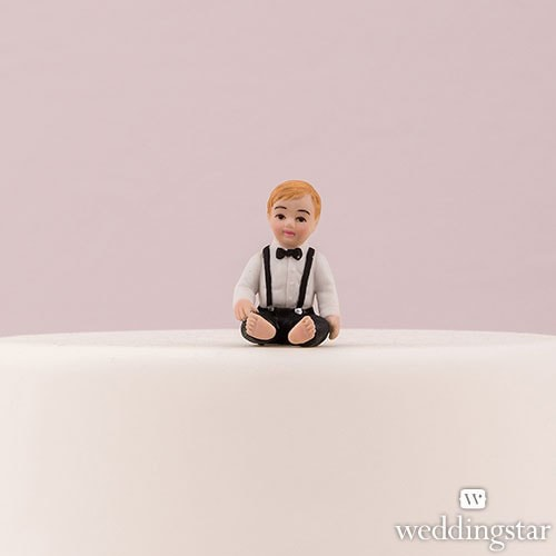 Muñeco para pastel de bebé Baby Boy.