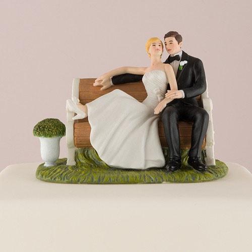 Figura de pastel Promesa de amor .