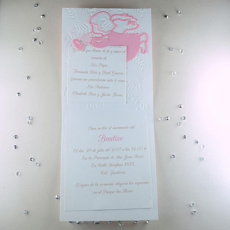 Invitación para Bautizo Dulzura