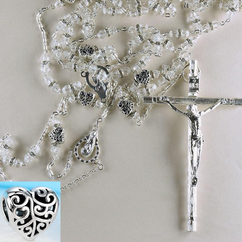 Cristal Heart, Lazo de bodas con Certificado de Exclusividad.