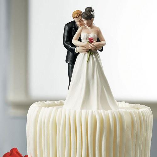Figura de pastel Profundamente Enamorados.