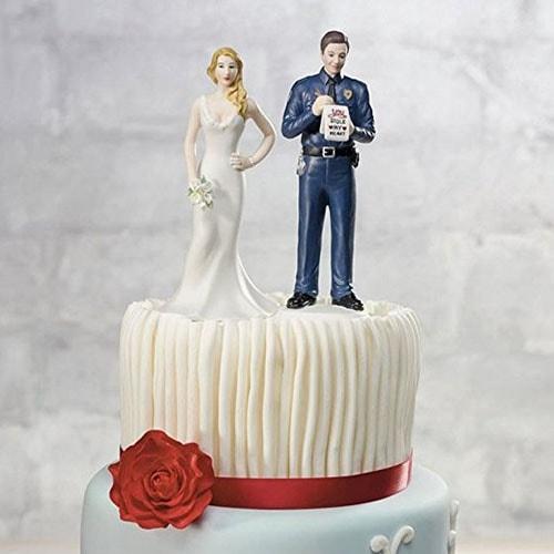 Figura de pastel Infracción de amor.