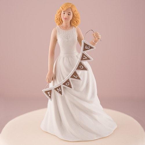 Figura para pastel Shabby Love