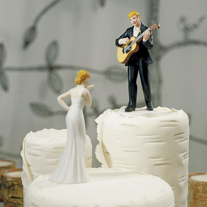 Muñecos para pastel originales Serenata