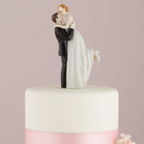 "PORC_023-.Figura para pastel de boda ""True Love"""