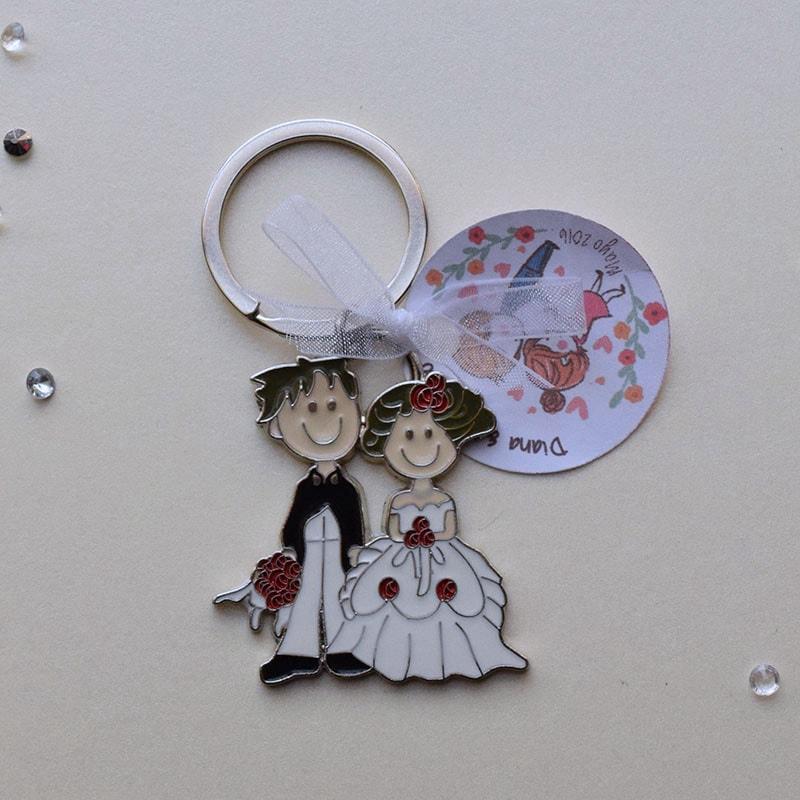 Llavero de boda, a tu lado