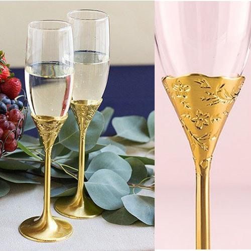 "Copas de boda ""Classic Romance Gold"""