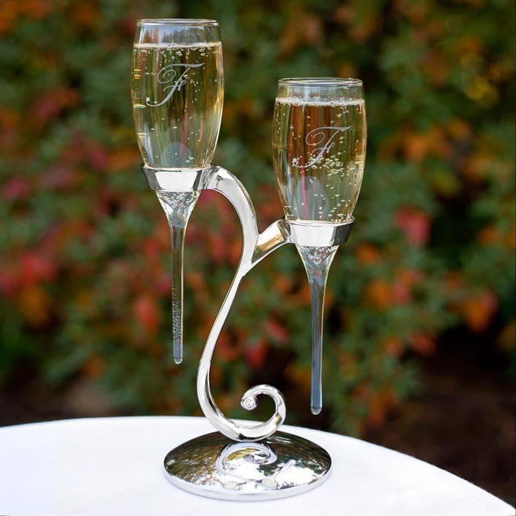 """Copas de boda """"Gotas de Lluvia"""""""