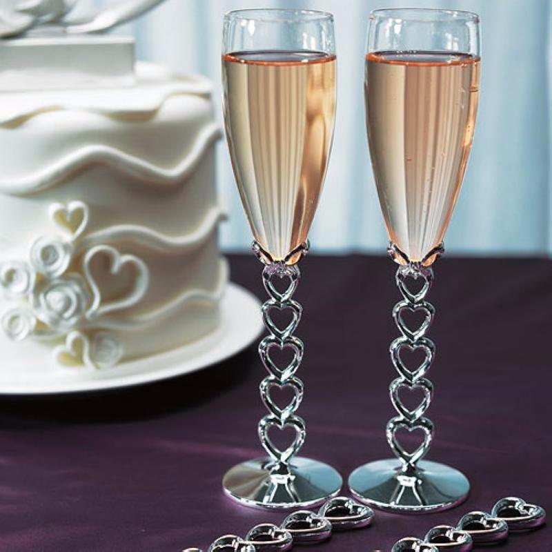Copas de brindis para boda Love´s weeding