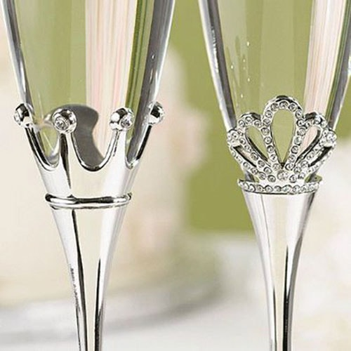 "Copas para Boda "" King and Queen"""