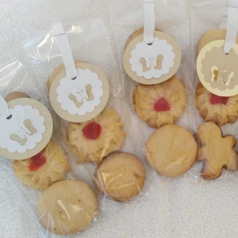 Galletas de mantequilla personalizadas.