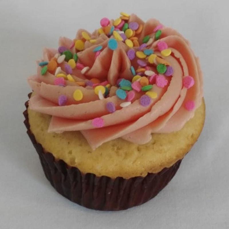 Cupcake con confeti