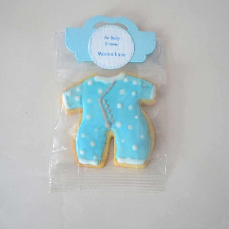 "Galleta decorada ""Mameluco azul"""