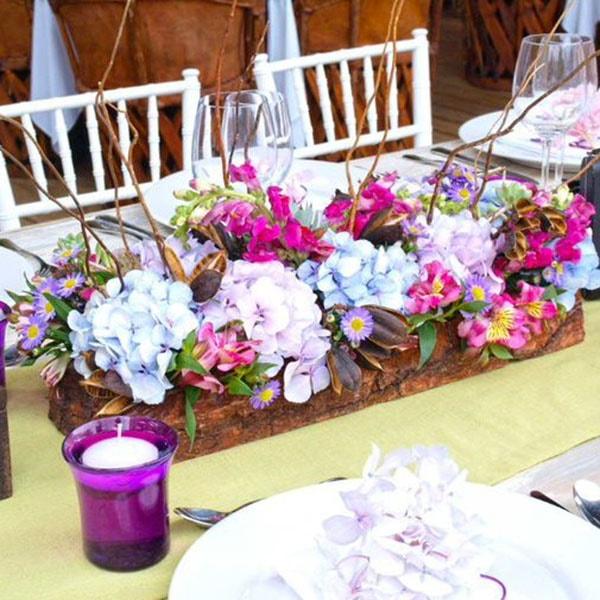 """Centro de mesa para Boda """"Vintage"""" Floral"""