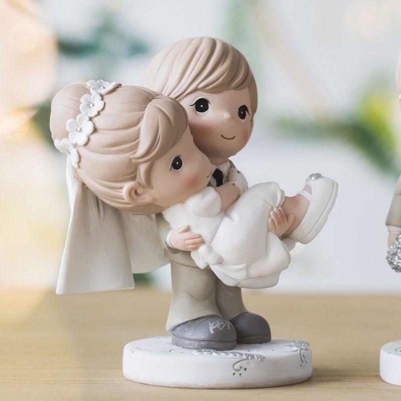 Figuras para pastel Novio Cargando a su Amada