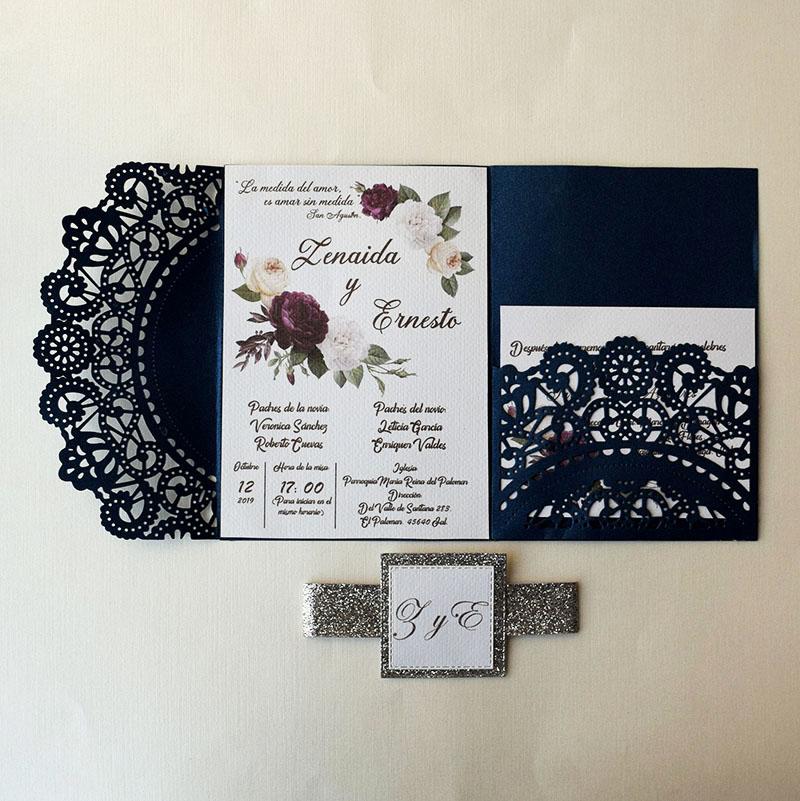 Invitación para boda Zenaida,  se aceptan pedidos pequeños
