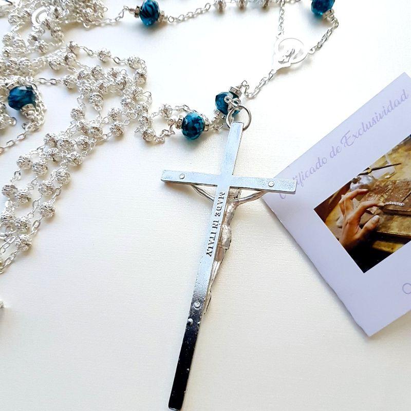 Lazo Destello de Mar, Cristal de Murano, Certificado de Exclusividad