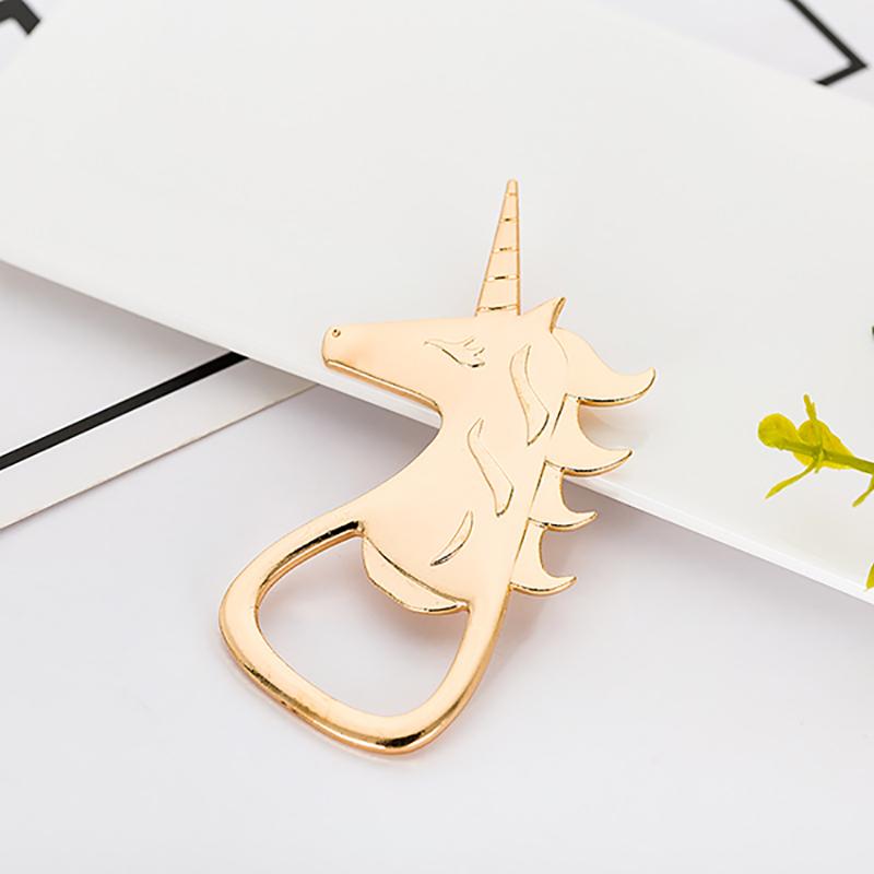 Destapador Dorado Unicornio