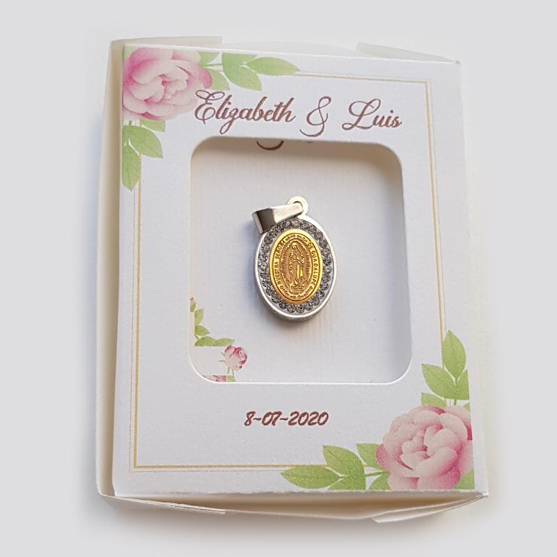 Medalla de Virgen de Guadalupe, recuerdo religioso