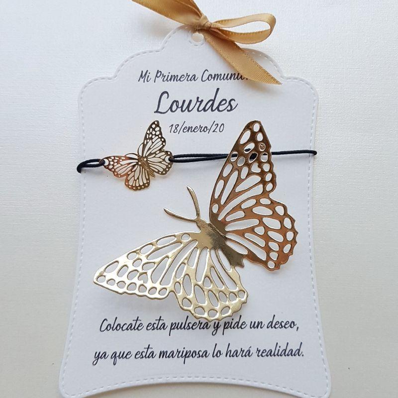 Pulsera de Mariposa Mágica