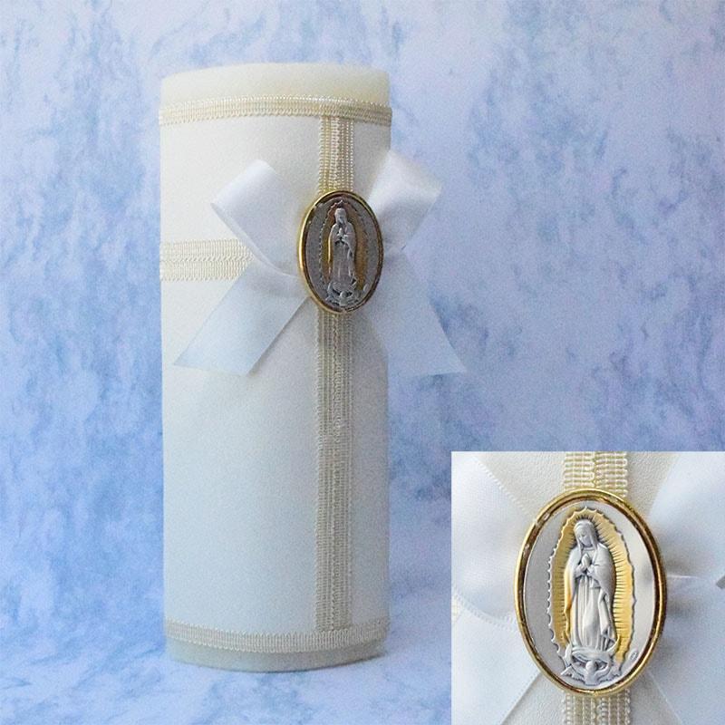 Kit Bautizo con medalla de Virgen de Guadalupe