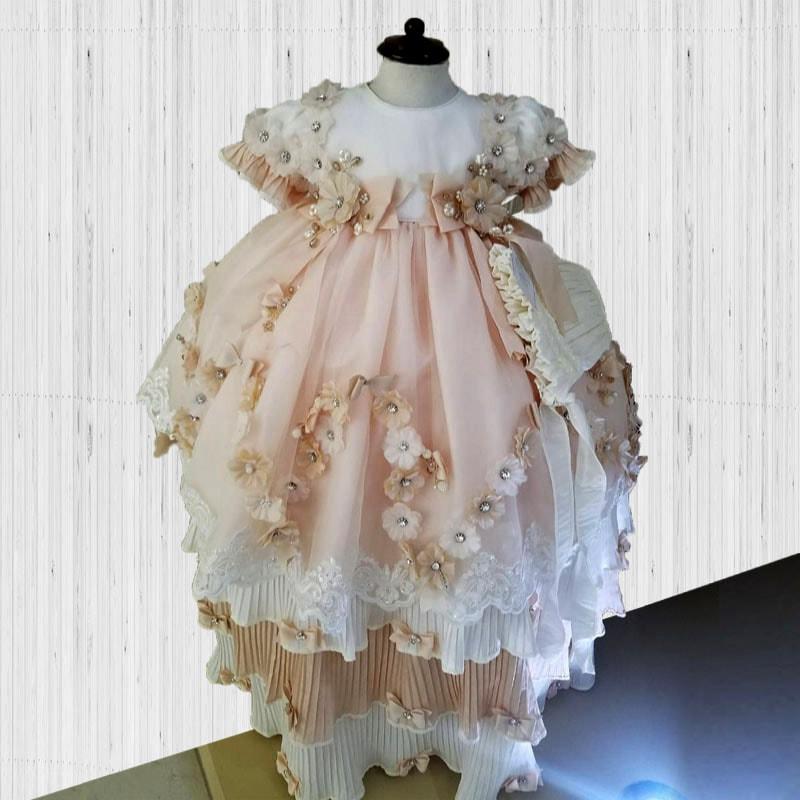 Ropón elegante de niña Astrid Clásico