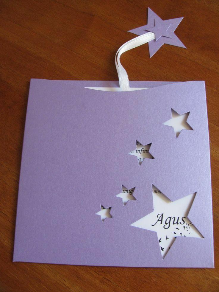 Invitación para XV años Estrella