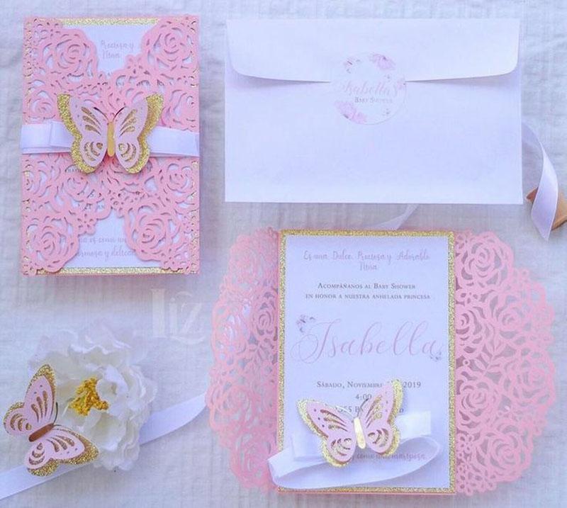 Invitación para XV años Isabella (pedidos desde 25 piezas)