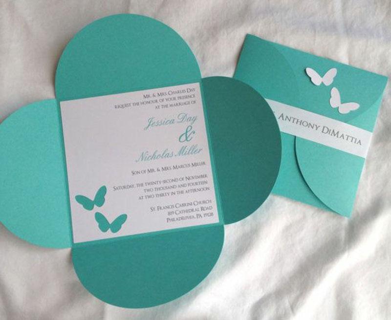 Invitacion de XV años Tiffany (pedidos desde 25 piezas)