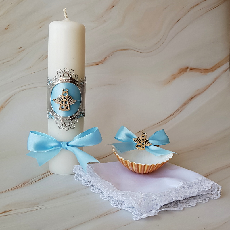 Kit de Bautizo angelito de mi guarda