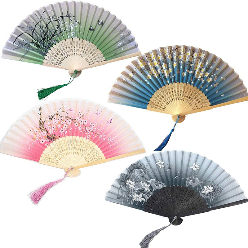 Abanico de colores Japonés, Calidad Premium