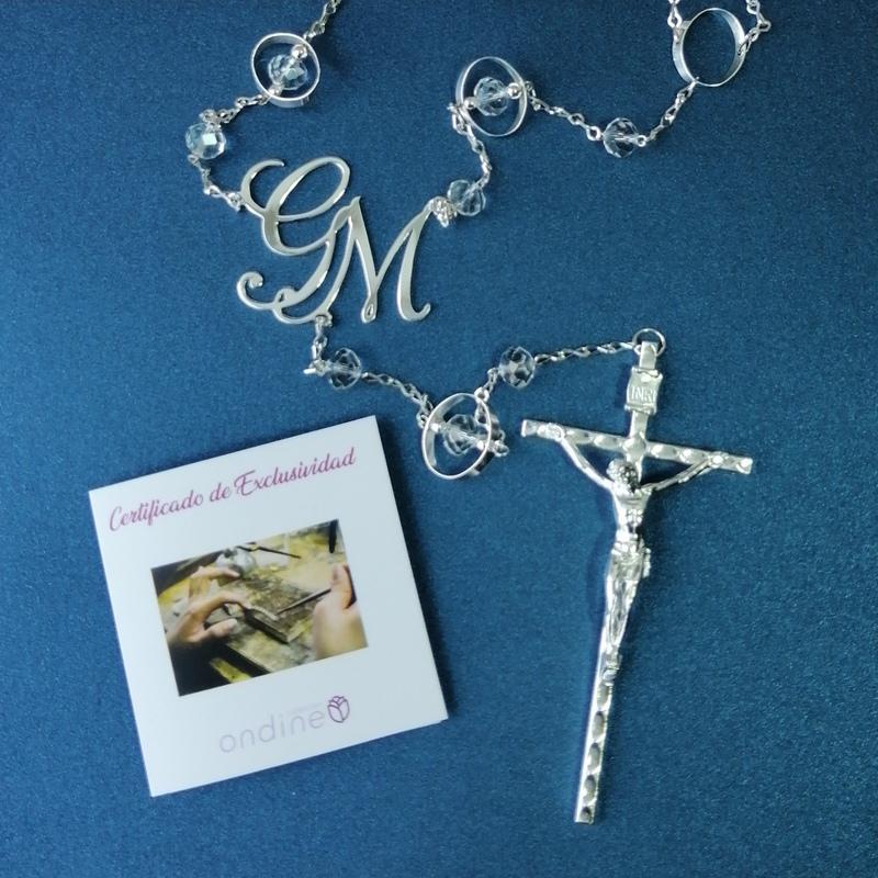 Lazo de boda Eternity personalizado con cruz italiana Certificado de Exclusividad.