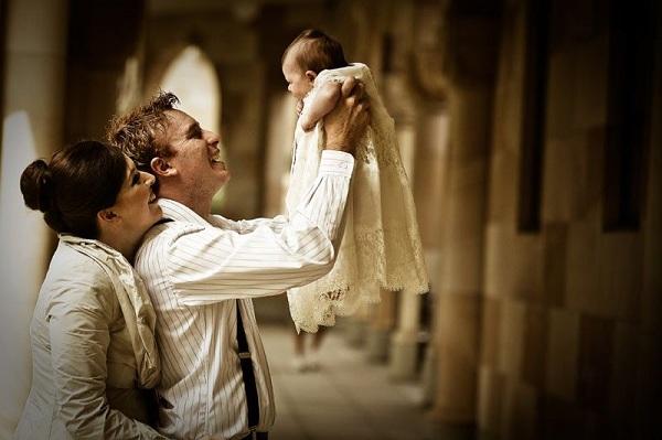 Como elegir a los padrinos de bautizo de tu hijo.