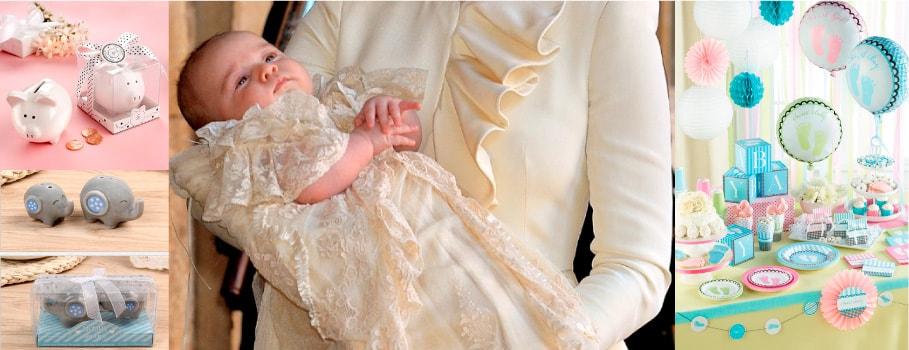 Lindos recuerdos para bautizo de niña y niño.