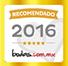 2016 bodas.com award
